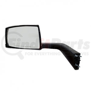 41695 by UNITED PACIFIC - Chrome Hood Mirror Assembly For 2004-2014 Volvo VN/VNL - Driver