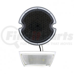 110150 by UNITED PACIFIC - 21 LED Tail Light w/ Smoke Lens For 1933- 36 Ford Car & Truck - L/H