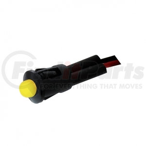 36517B by UNITED PACIFIC - 1 LED Snap- In Indicator Light - Amber