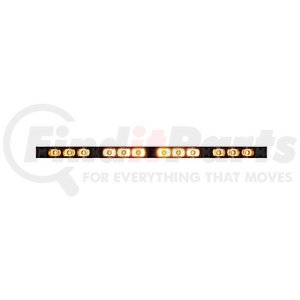 """36943 by UNITED PACIFIC - 12 High Power LED 18 """" Directional Warning Light Bar"""