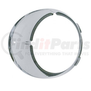 32374 by UNITED PACIFIC - Freightliner Inner Headlight Bezel - Driver