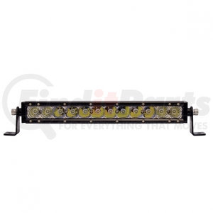 """36613 by UNITED PACIFIC - 12 High Power Cree LED Single Row 12 1/2"""" Light Bar"""