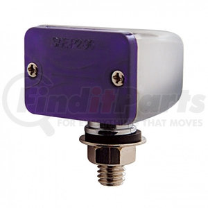 30349 by UNITED PACIFIC - Small Rectangular Auxiliary Light - Purple
