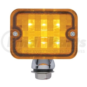 39192 by UNITED PACIFIC - 6 LED Medium Rod Light - Amber LED/Amber Lens