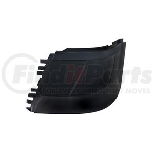 20970 by UNITED PACIFIC - 2004+ Volvo VNL Bumper End w/o Fog Light Hole (Stud Mount) - Driver