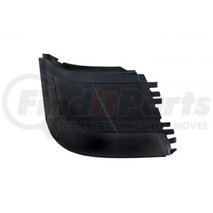 20971 by UNITED PACIFIC - 2004+ Volvo VNL Bumper End w/o Fog Light Hole (Stud Mount) - Pasenger