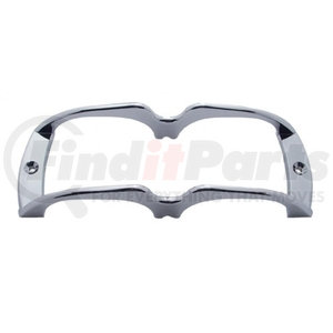 29999 by UNITED PACIFIC - Chrome Plastic Turtle Back Lens Guard
