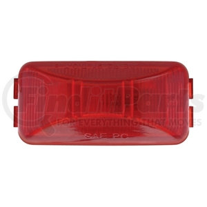30145RK-B by UNITED PACIFIC - Rectangular Clearance/Marker Light Kit w/ Black Bracket - Red Lens