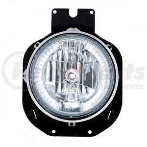 31142 by UNITED PACIFIC - 1996-2005 Freightliner Century Crystal Headlight w/ 34 White LED