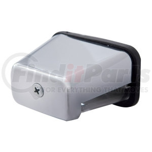 31401P by UNITED PACIFIC - Chrome Rectangular License Light
