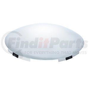 """10145 by UNITED PACIFIC - Universal Front Hub Cap - 7/16"""" Lip"""