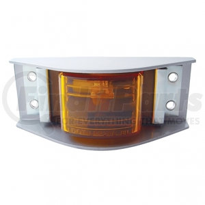 36014 by UNITED PACIFIC - Narrow-Rail Clearance/Marker Light - Amber Lens