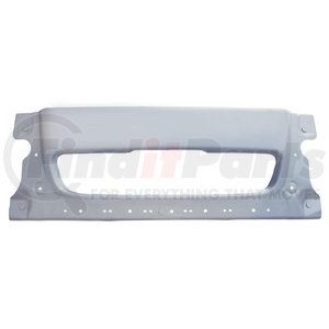 21174 by UNITED PACIFIC - Silver Paint Center Bumper For 2005-10 Freightliner Century