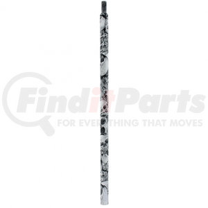 "21799 by UNITED PACIFIC - 18"" Skull Pattern Shifter Shaft Extension"