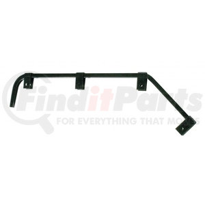 10672 by UNITED PACIFIC - Black Angled Mud Flap Hanger - No Coil