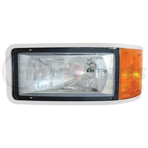 31208 by UNITED PACIFIC - Headlight For Mack Ch600, Cl600, Cl700 - Driver