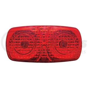 33576B by UNITED PACIFIC - Crystal Tiger Eye Clearance/Marker Light - Red Lens