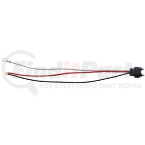 """34212P by UNITED PACIFIC - 3 Wire Pigtail w/ 3 Prong Straight Plug - 12"""" Lead (Retail)"""