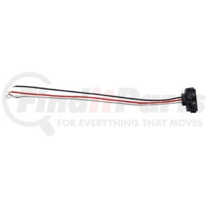 """34216P by UNITED PACIFIC - 3 Wire Pigtail w/ 3 Prong Right Angle Plug - 12"""" Lead (Retail)"""