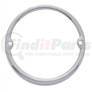 30304 by UNITED PACIFIC - Stainless Round Cab Light Bezel