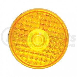 "38385B by UNITED PACIFIC - 1 LED 2"" Crystal Beehive Clearance/Marker Light - Amber LED/Amber Lens"
