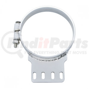 """10289 by UNITED PACIFIC - 6"""" Kenworth Chrome Exhaust Clamp"""