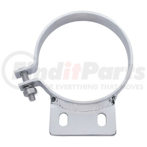 "10295 by UNITED PACIFIC - 6"" Peterbilt Chrome Exhaust Clamp"