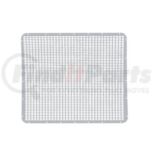 21154 by UNITED PACIFIC - Peterbilt 379 Extended Hood Stainless Grille - Straight Oval Hole