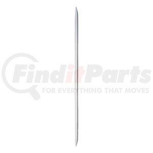 "21157 by UNITED PACIFIC - 26 1/2"" International Stainless Grille Bar"