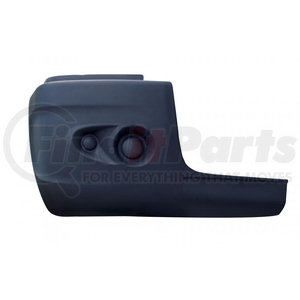 21176 by UNITED PACIFIC - 2005-10 Freightliner Century Bumper End w/o Fog Light Hole - Passenger