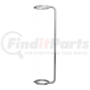 """21307 by UNITED PACIFIC - 45"""" Chrome Exhaust Grab Handle - 6"""" Clamp"""
