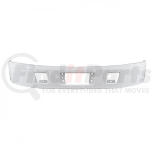 21473 by UNITED PACIFIC - 2005+ Hino 238/258/268/338 Bumper - White