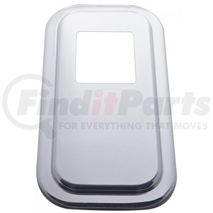 21730 by UNITED PACIFIC - Peterbilt Stainless Shift Plate Cover - Short Hood