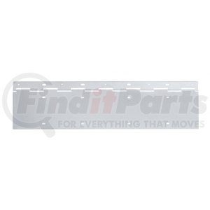21539 by UNITED PACIFIC - Stainless 2 License Plate Holder