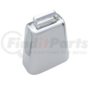 """10802 by UNITED PACIFIC - 4 3/4"""" Chrome Cow Bell"""