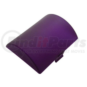 """30813 by UNITED PACIFIC - 2-3/4"""" X 3-3/8"""" Half Round Dome Light Lens - Purple"""