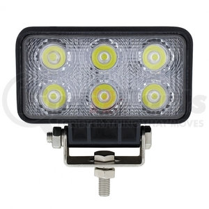 36510 by UNITED PACIFIC - 6 High Power LED Rectangular Driving/Work Light
