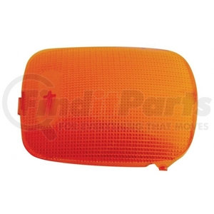 37050 by UNITED PACIFIC - Rectangular Dome Light Lens For 2006+ Peterbilt - Amber