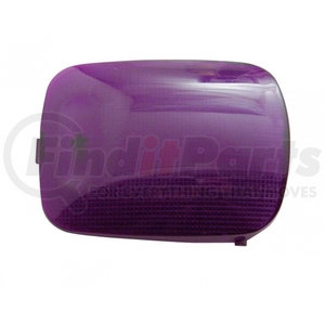 37054 by UNITED PACIFIC - Rectangular Dome Light Lens For 2006+ Peterbilt - Purple