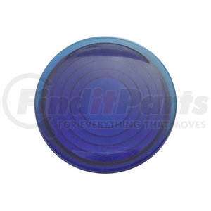 37057 by UNITED PACIFIC - Round Map Light Lens For 2006+ Peterbilt - Blue