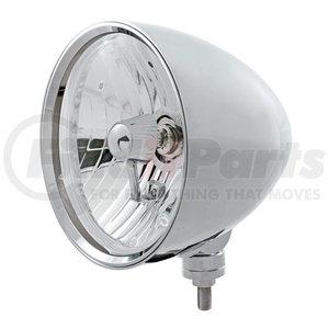 "32552 by UNITED PACIFIC - Chrome ""Chopper"" Headlight Crystal H4 Bulb"