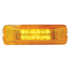 38161B by UNITED PACIFIC - 12 LED Rectangular Clearance/Marker Light - Amber LED/Amber Lens