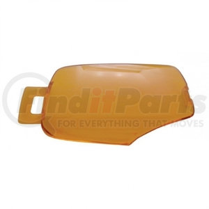 41376 by UNITED PACIFIC - 2006+ Kenworth Rectangular Dome Light Lens - Amber