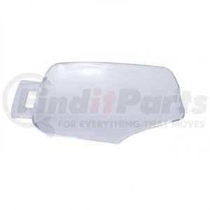 41378 by UNITED PACIFIC - 2006+ Kenworth Rectangular Dome Light Lens - Clear
