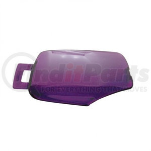 41380 by UNITED PACIFIC - 2006+ Kenworth Rectangular Dome Light Lens - Purple