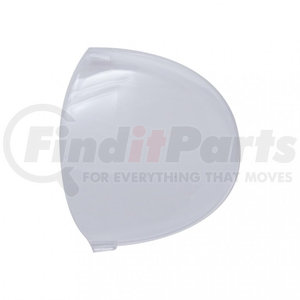 41384 by UNITED PACIFIC - 2006+ Kenworth Round Dome Light Lens - Clear