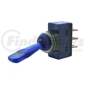 40240 by UNITED PACIFIC - Glow Toggle Switch - Blue