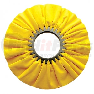 "90094 by UNITED PACIFIC - 10"" Yellow Treated Airway Buff - 3"" Arbor"