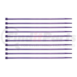 """90320 by UNITED PACIFIC - 8"""" Nylon Cable Ties - Purple (10 Pack)"""