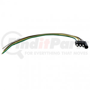 """90627 by UNITED PACIFIC - 4 Way Trailer Harness - 12"""" Lead Wire"""